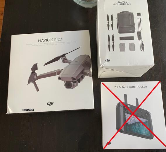 Drone Mavic 2 Pro Com Combo Fly More 4900 A Vista - So Hoje