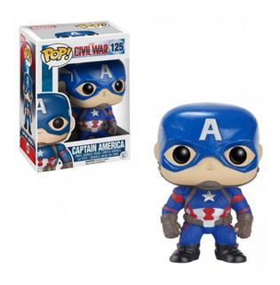Funko Pop Captain America Civil War Captain America 125