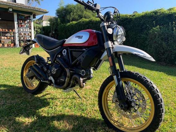 Ducati Scrambler Desert Sled 2017 800 Cc 4500km Tit Nuñez