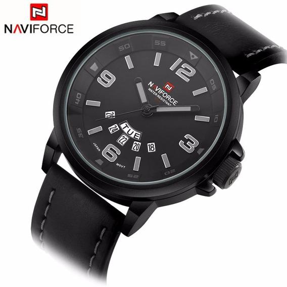 Relógio Masculino Naviforce Original 9028 Prova D