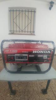 Generador Honda 7.5 Kv Nuevo