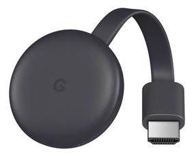 Novo Google Chromecast 3 Geração 2019 Original Hdmi Lacrado