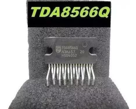 Ci De Audio Tda8566 70039ab 17 Pin 2 X 40w 2ohm Frete 10,c/r