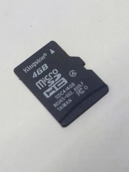 Cartão De Memória 4gb Micro Sd Kit 2 Unidades Atenção 4gb