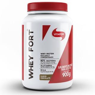 Whey Fort 900g - Vitafor - Isolado E Concentrado