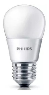 Pack 10 Lampara Philips Led Bulbo Gota 4w = 40w 220v E27