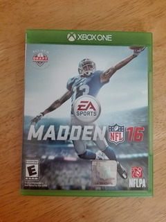 Juego Madden 16 Usado Xbox One Con Manual Completo