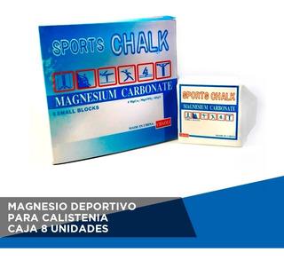 Magnesio Deportivo Pack Caja De 16u - Anillas Barras