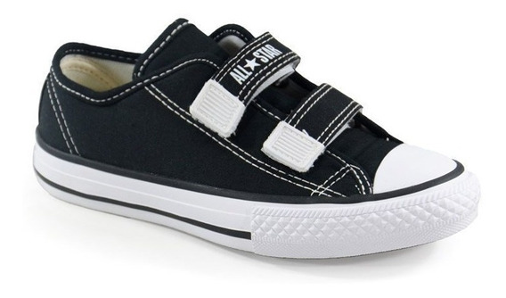 Tênis Ct As Border 2v All Star Preto Branco - Ck05070002