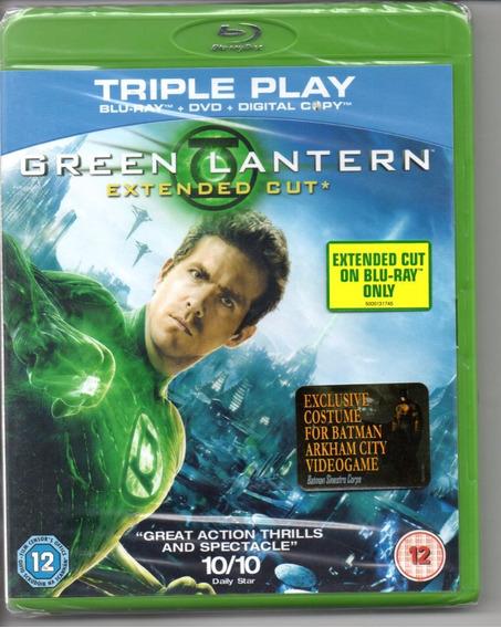 Blu-ray Green Lantern Extended Cut - Bonellihq Cx393 G18
