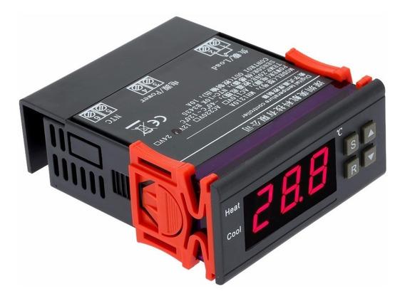 Termostato Digital 10a 12v -40º ~ 120º - Pronta Entrega