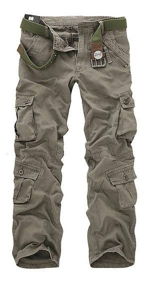 Hombres Militar Pantalones Al Aire Libre Táctico Excursioni