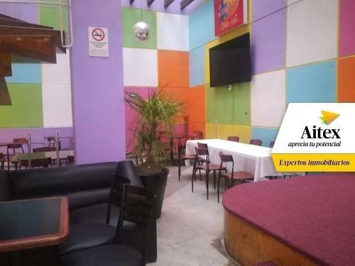 Local Ideal Para Restaurante-bar Familiar, En La Colonia Cuauhtémoc