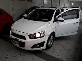 Chevrolet Sonic 2012 Ltz 1.6 5p Blanco Concesionario Oficial