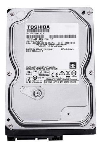 Disco rígido interno Toshiba DT01ACA100 1TB