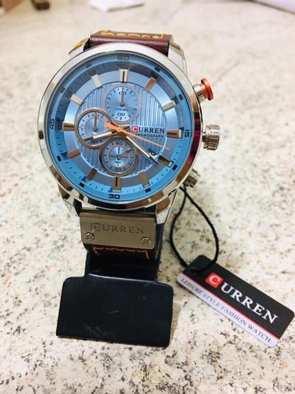 Relógio Masculino Curren Original Modelo 8291 Novo