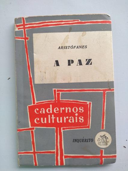 Livro - A Paz - Aristófanes - Cadernos Culturais