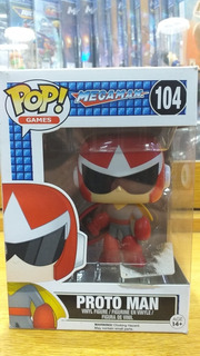 Muñeco Funko Pop Coleccion Proto Man Megaman