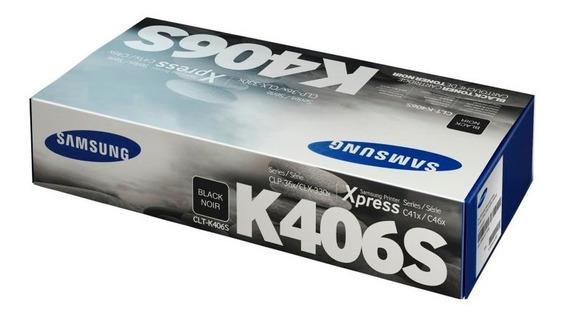 Toner Original Clt-k406s Negro Samsung C365w,c410,460
