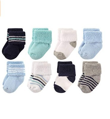 Calcetines De Bebé Luvable Friends Unisex Estilo 19 Pps