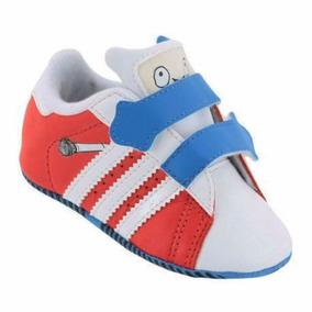 Tênis adidas Superstar Adikids Crib Baby Vermelho Tamanho 17