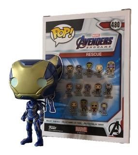 Funko Pop Figura Juguete Marvel Endgame Avengers Rescue