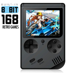 Mini Game Retro Games 168 Jogos 8 Bits Tela 3 Polegadas
