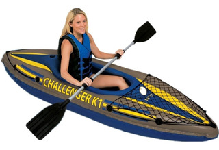 Kayak Intex Challenger K1 Con Remo