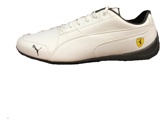 Tenis Puma Ferrari Drift Cat 7 Blanco 305998-06 Look Trendy