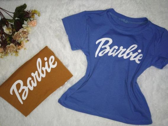 Tshirt Barbie Infantil 100% Algodão Blogueirinha Mini Diva