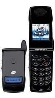 Telefono Nextel I834 Black Chico Liviano Con Tapa Modelo #5
