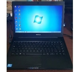 Notebook Positivo Unique S1991 Celeron 1007u Tela 14 Win 7