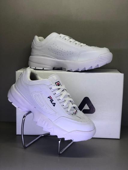 Tênis Fila Disruptor Premium Branco Original Unissex