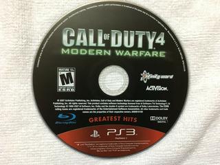 Call Of Duty 4 Modern Warfare Usado Ps3 - Blakhelmet E