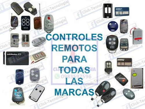 Control Remoto De Garage Puertas Automaticas Came, Roger,