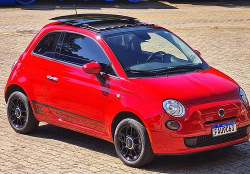 Fiat 500 2015 1.4 Cult Flex Dualogic 3p