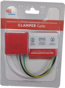 Protetor Surto Clamper Gate Motor De Portão Automatizador