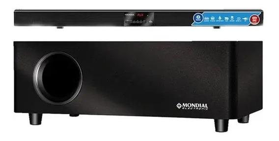 Home Theater Sound Bar Sb-03 Mondial Preto - Bivolt