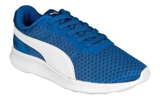 Tenis Puma St Activate Ac Azul Tallas De #11 A #16 Bebes