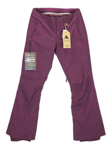 Pantalón Para Nieve Burton Society De Mujer Talla S