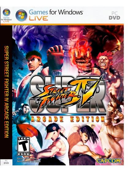 Jogo Street Fighter Iv Pc Dvd