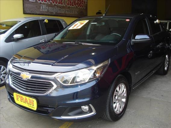 Chevrolet Cobalt Elite Automático Motor 1.8 2017 Azul