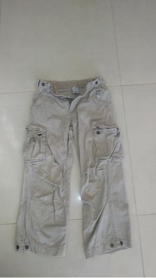 Pantalon Cargo De Niño - Marca Old Navy - Beige