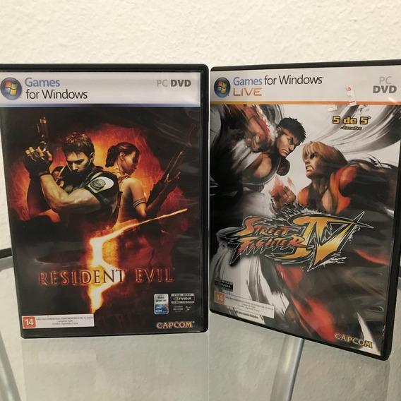 Resident Evil 5 + Street Fighter 4 (pc/ Windows)