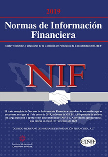 Envío Gratis. Nif 2019. Normas Información F. Profesional