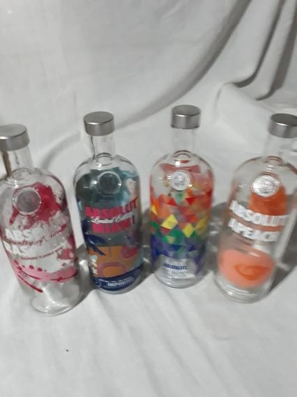 Botella Absolut Edition Miami - Vacia 1 L-