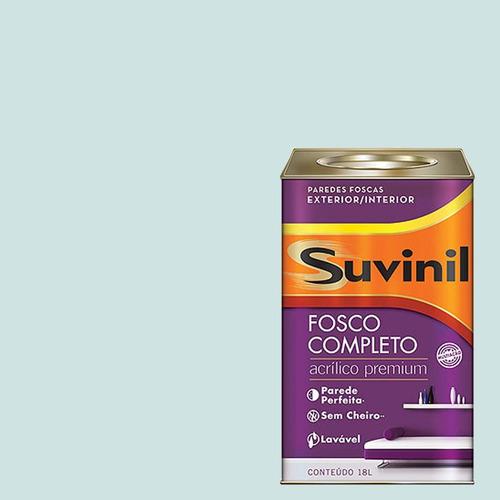 Tinta Acrilica Fosca Premium Suvinil Fada 18lts.