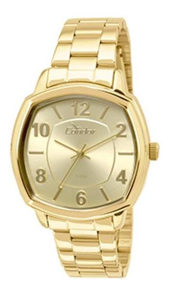 Relógio Condor Feminino Dourado Co2035koq4d