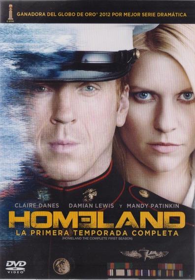 Homeland Primera Temporada 1 Uno Dvd