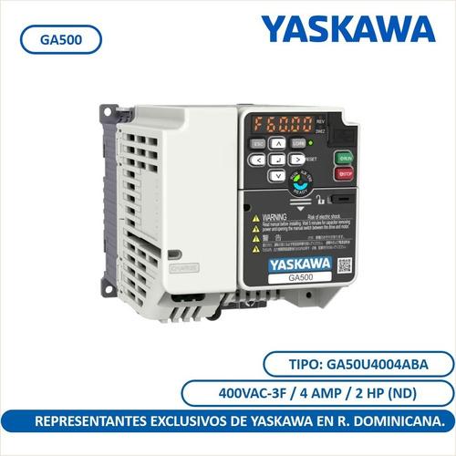 Ga500 2 Hp Variador De Frecuencia Yaskawa Uso Industrial